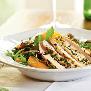 Arugula Salad with Chicken