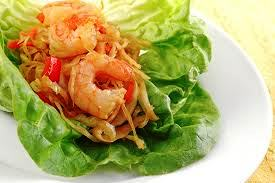 Ginger Shrimp Wraps